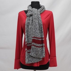 Chaps: Knitted Scarf